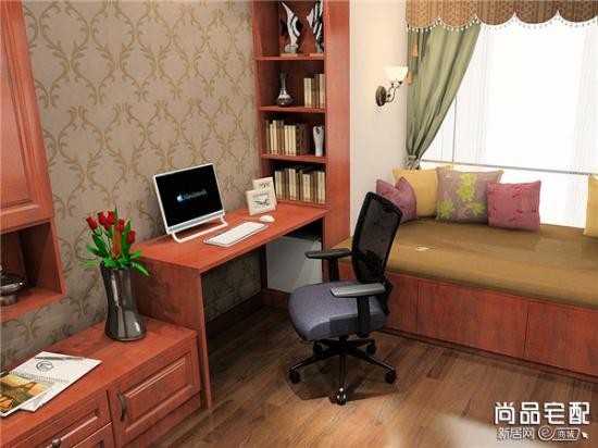飘窗电脑桌设计风格怎么选择图片