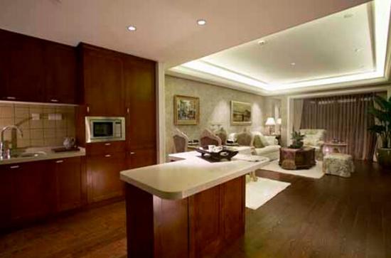 厨房和客厅在一起怎么装修好呢