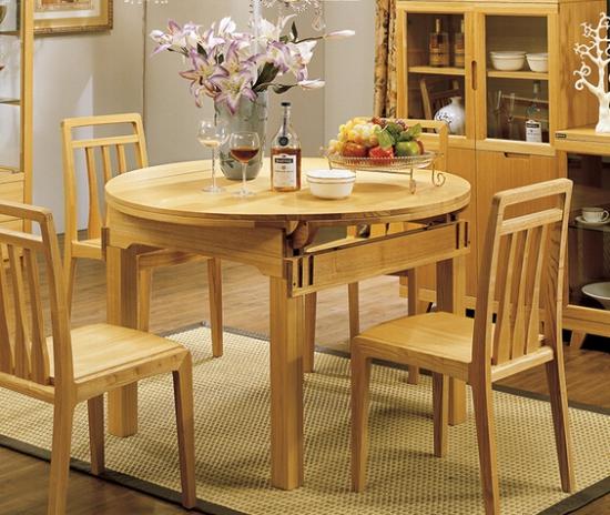 实木多功能餐桌有哪些款式
