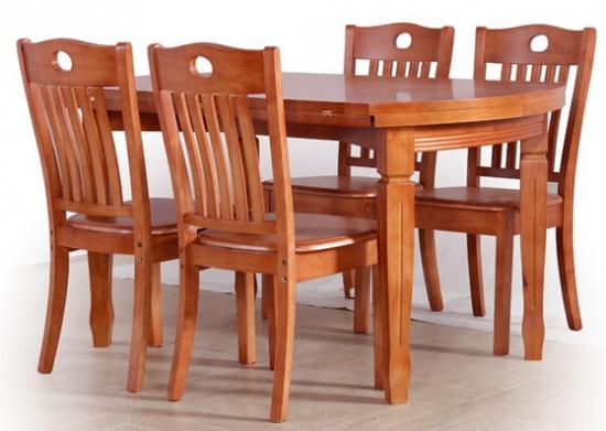 实木折叠圆餐桌 保养技巧要知道