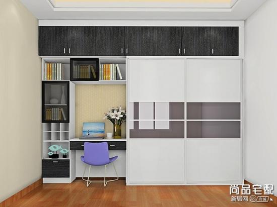 连体书柜书桌 超赞的设计