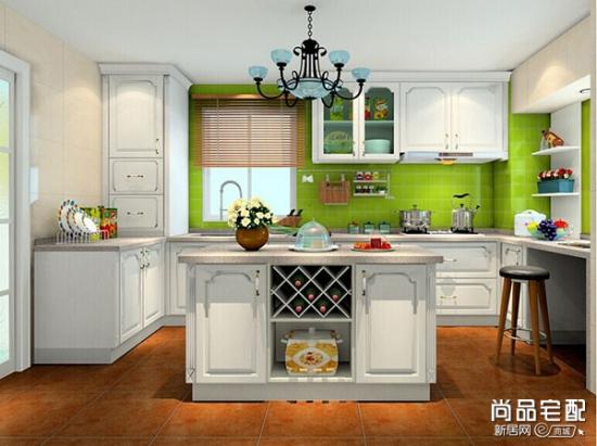 欧式厨房装修风格 简约舒适