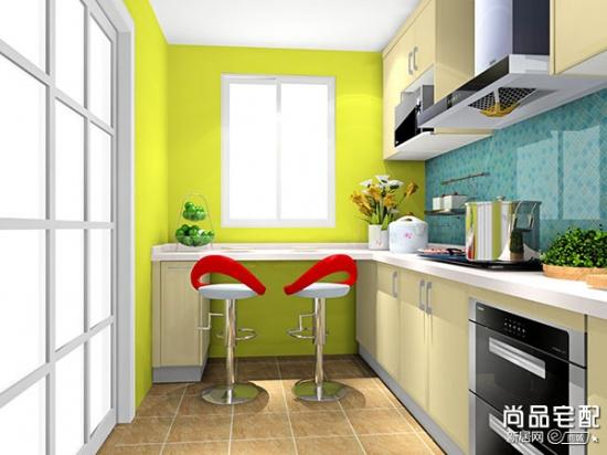 现代简约厨房隔断 充分考虑空间
