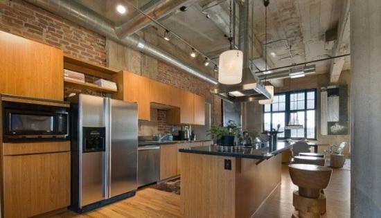 斜顶阁楼厨房装修该如何