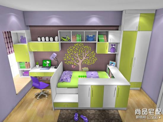 12平米儿童房设计 合理布置使用