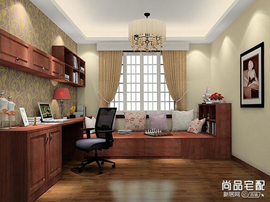 新中式书房家具特点