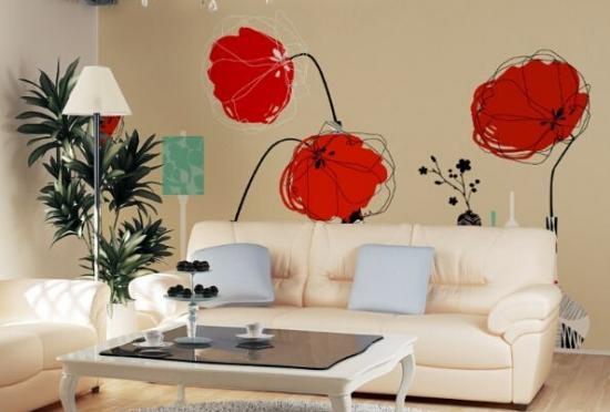 室内软装设计 手绘墙画价格怎么样呢