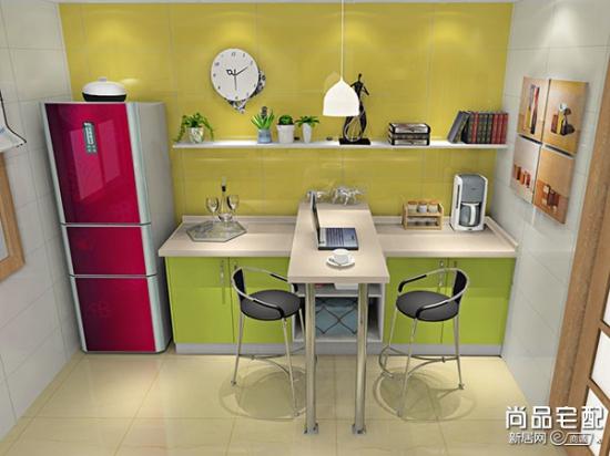 小户型厨房吧台设计方案