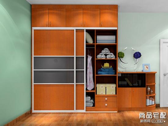 最新款卧室衣柜欣赏