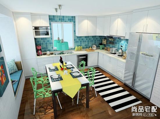 厨房装修田园风格十分不错