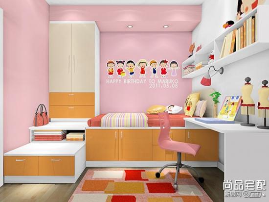 小户型儿童房榻榻米设计 增加空间的利用率