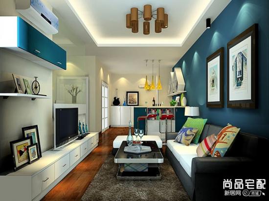 客厅装饰挂画在家装中的运用