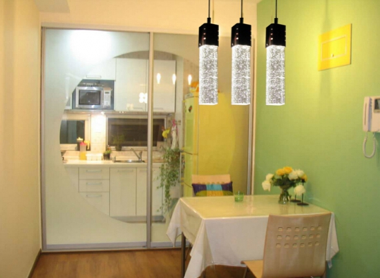 水晶吊灯餐厅如何完美使用