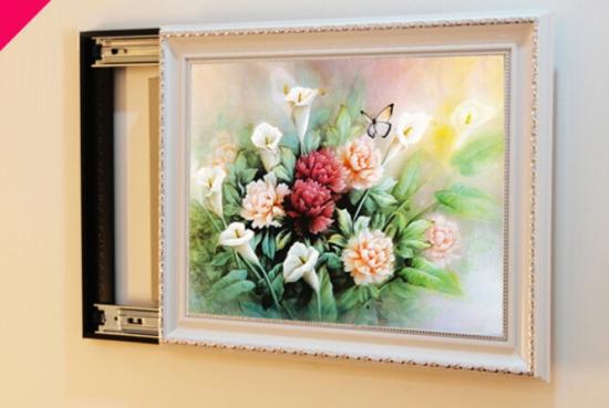 客厅配电箱装饰画 更美观