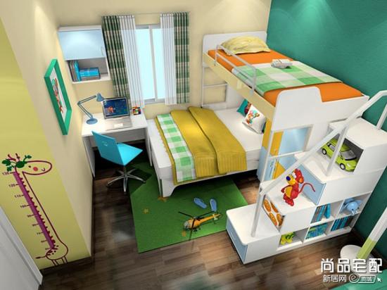 小型儿童房设计如何进行