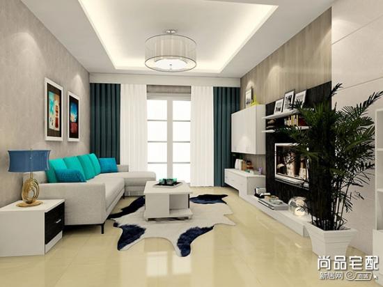 客厅铺什么瓷砖好呢