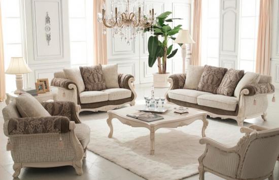 欧式布艺沙发如何清洗技巧图片