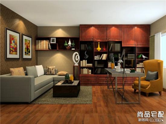 中式书房设计三大特色