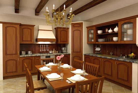 实木整体厨房价格知道吗