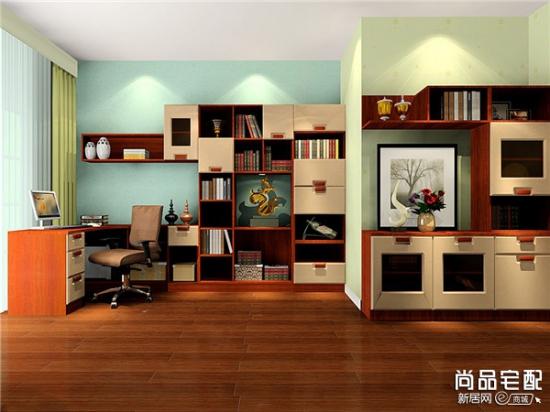 三款中式书房装修效果图推荐 美呆了!