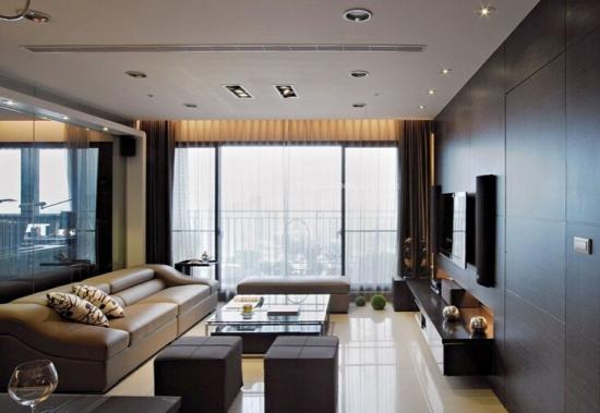 带阳台的客厅怎么装修?