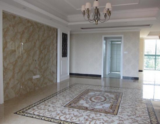 客厅地板砖拼花 家具装饰新宠儿