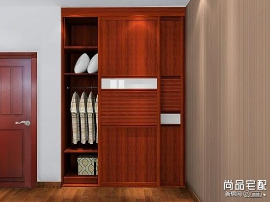 中式实木衣柜图片欣赏 保养技巧图片
