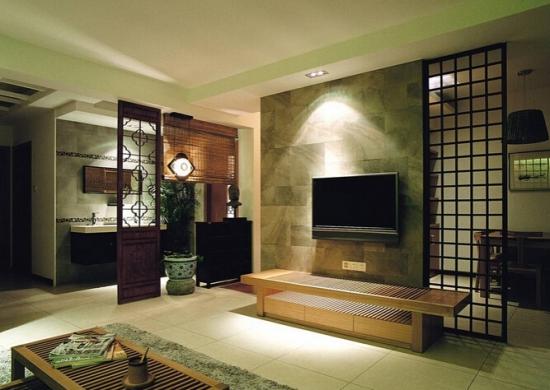 实木地板电视背景墙设计技巧