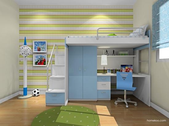 9平米儿童房设计图欣赏