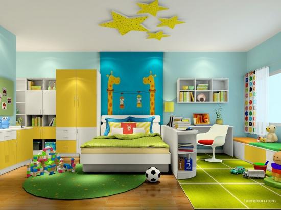 儿童房装修创意 美呆了