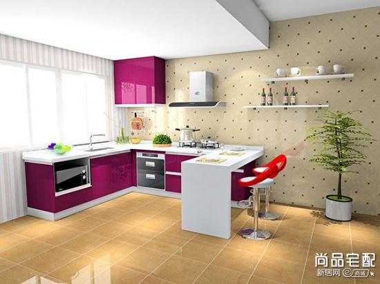 小户型的开放式厨房 让你的家更宽敞