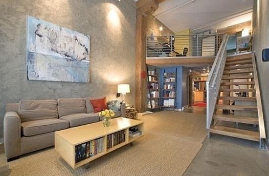 斜顶阁楼楼梯怎么设计最好看