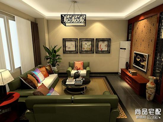 中式客厅吊顶装修如何选择