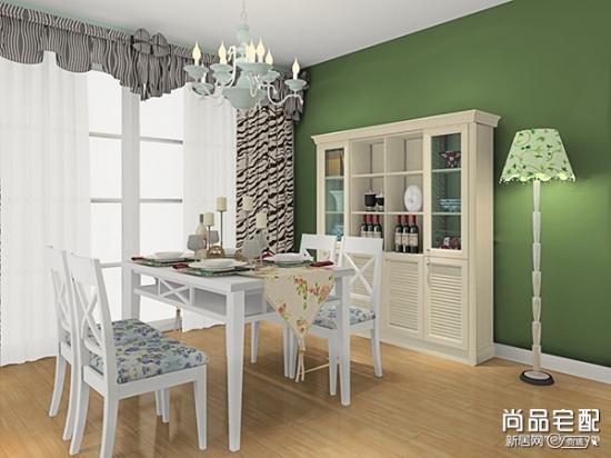 小户型餐厅和客厅一体