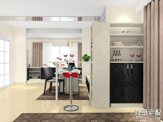 厨房和餐厅的隔断柜