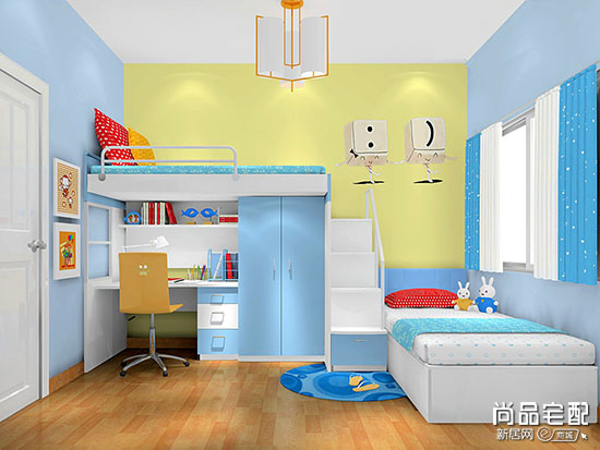 小户型儿童房设计方案