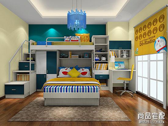 小空间儿童房设计要精心