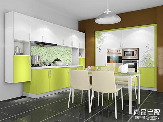 厨房台面颜色搭配 效果图欣赏
