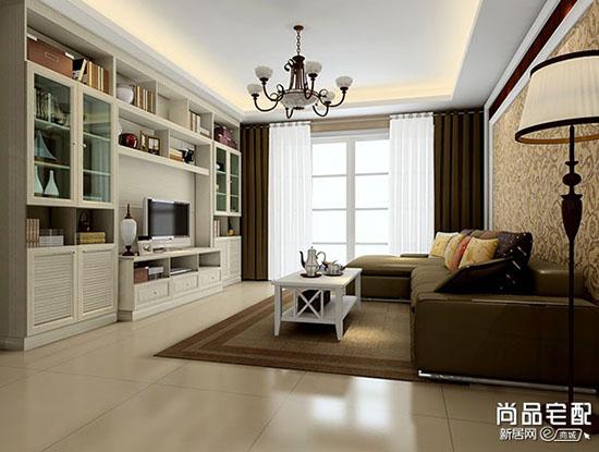 客厅装修建材吊顶尺寸常规是多少