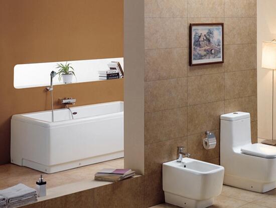 卫生间浴缸高度