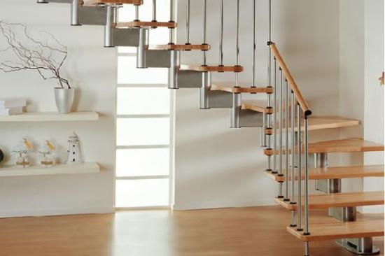 旋转楼梯效果图