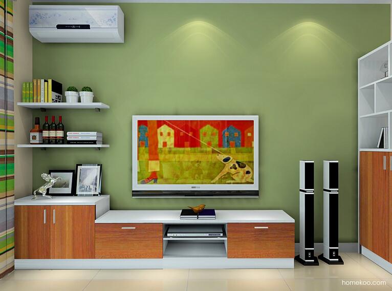 实木电视柜图片
