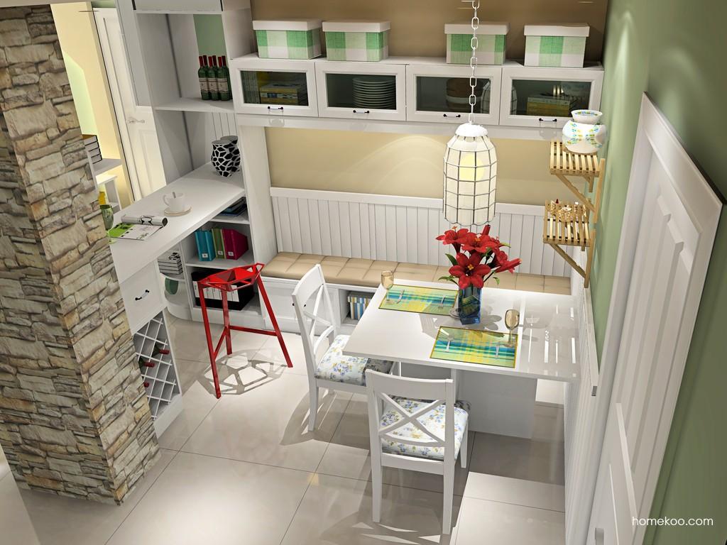 家庭吧台装修效果图