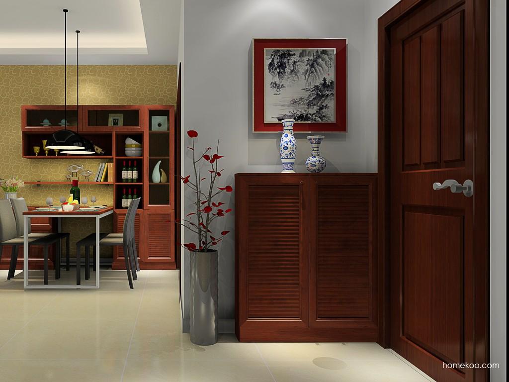 中式鞋柜图片