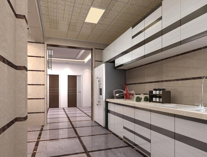 客厅铝扣板吊顶效果图