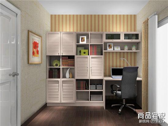 中式书柜效果图