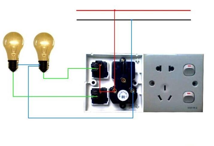 双控开关接线图介绍 如何进行双控开关接线