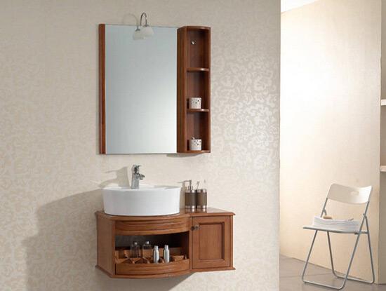 橡木仿古浴室柜 橡胶木浴室柜怎么样