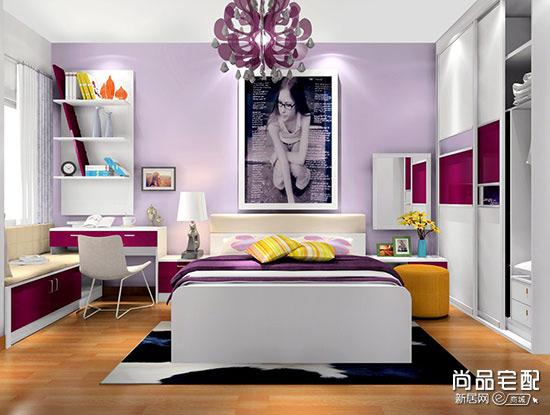 板式床头柜图片