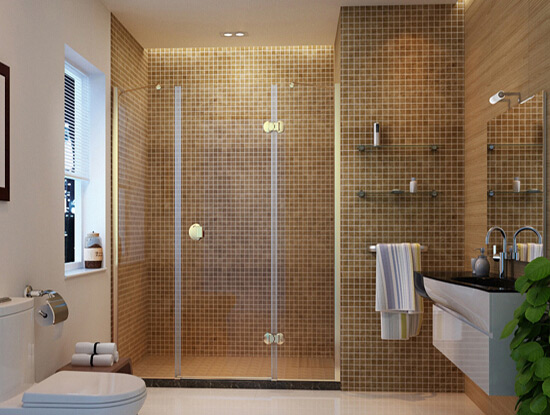 卫生间瓷砖颜色搭配设计效果图
